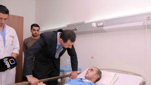Bashar al-Assad sairaalassa 2011