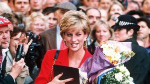 Prinsessa Diana vuonna 1995
