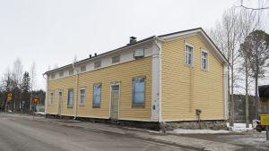 Vanha kirjasto Kajaanissa.