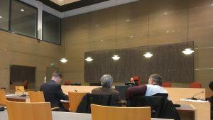 Risunjemmaaja-videon oikeuskäsittelyssä kantajaa edusti  hänen kaksi veljeänsä