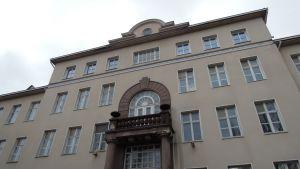 Entisen Tammiharjun sairaalan päärakennus.