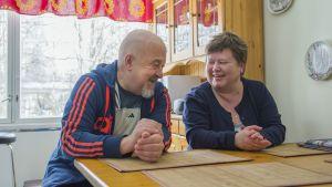 Osmo Heikkinen ja Tarja Rönkkö