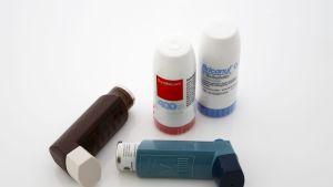 Astmalääkkeitä