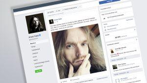Kuvakaappaus Anssi Kelan Facebook-sivusta