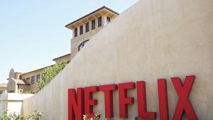 Netflixin päämaja Los Gatosissa, Kaliforniassa.