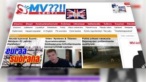 Kuvakaappaus MV-lehden nettisivuilta