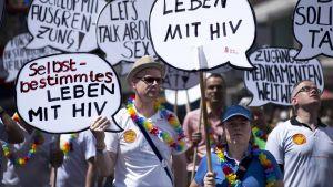 Berliini mielenosoitus HIV Aids