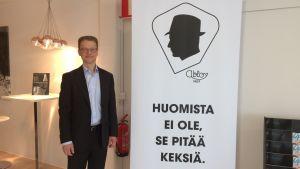 Abloyn toimitusjohtaja Jari Toivanen.