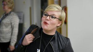 Keskustan kansanedustaja Annika Saarikko.