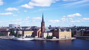 Riddarholmenin kirkko Tukholmassa.