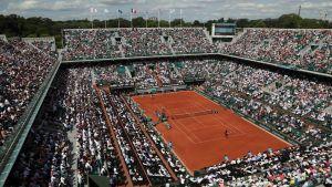 Roland Garros -areena kuvassa