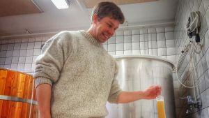 Sami Kuusela perusti olutpanimon Taivalkoskelle