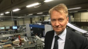 Matti Uutu johtaa Bookwell Digitalia, jolla on paino Juvalla ja konttorit Helsingissä ja Tanskassa.