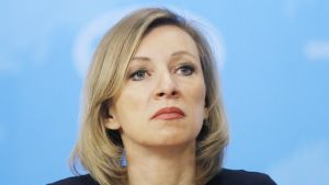 Venäjän ulkoministeriön edustaja Marija Zaharova