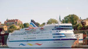 Birka Princess -risteilyalus Tukholmassa