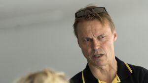 Lentopallojoukkue Kokkolan Tiikereiden päävalmentaja Tapio Nissi.