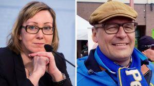 Hanna Mäntylä ja Matti Torvinen