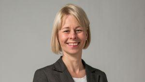 Alkon toimitusjohtaja Leena Laitinen.
