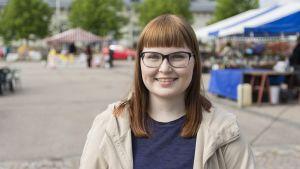 Laura Metsävainio on kesäopiskelija