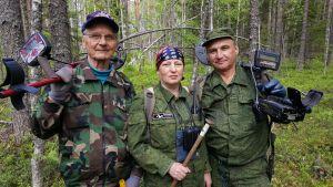 Ismo Mikkonen, Nina Stolepova ja Oleg Stolepov
