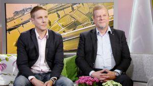 Ville Räisänen ja Harri Sane