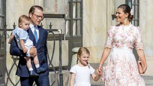 Prinsessa victoria perheensä kanssa