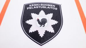 Keski-Suomen pelastuslaitoksen logo.