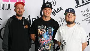 DJ Mista S sekä Ritarikunnan Lempi-Joe ja Chyde