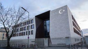 Turkin suurlähetystö Berliinissä.