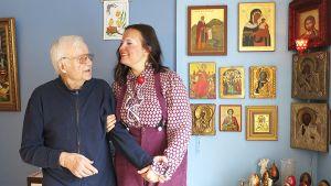 Veikko Ylitervo ja Helena Leminen