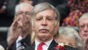 Arsenalin pääomistaja Stan Kroenke.