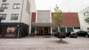 Lappeenrannan entinen elokuvateatteri Nuijamies