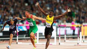 Omar McLeod voitti MM-kultaa