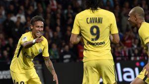 Tehokkaalla Neymarilla oli hauskaa PSG-debyytissään
