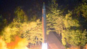Pohjois-Korean ohjuskoe