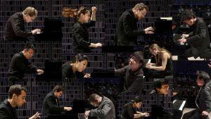 Kansainvälisen Maj Lind -pianokilpailun välieriin valittiin yhteensä 14 pianistia.