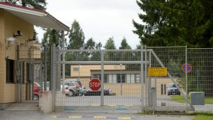 Hämeenlinnan vankilan Vankisairaalan portti Hämeenlinnassa.