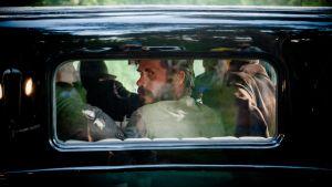 Tommi Korpela autossa