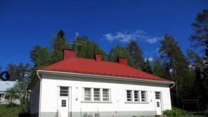 Asuinrakennus Sukevan vankilan alueella. Rakennus on valmistunut vuonna 1934.