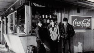 Vesiijärvenkadun kioski vuonna 1969