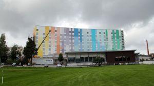 K-sairaalan julkisivu