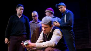 Savonlinnan teatterin Pojat-näytelmä