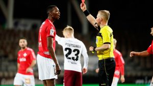 HIFK:n Nosh A Lody näki punaista JJK-ottelussa