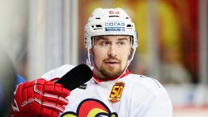 Pekka Jormakka teki Jokerien KHL-kauden 2017-18 ensimmäisen kotimaalin