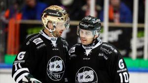 Tomi Kallio ja Eric Perrin