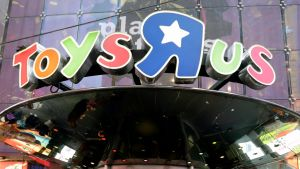 Toys 'r' us lelukauppa New Yorkissa.
