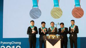Pyeongchangin mitalit julkistettiin torstaina 21. syyskuuta