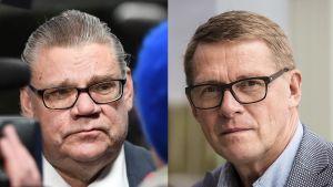 Timo Soini ja Matti Vanhanen