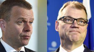 Petteri Orpo ja Juha Sipilä.