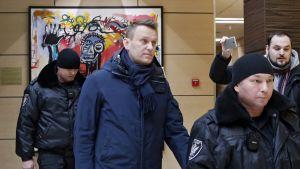 Venäläinen oppositiojohtaja Aleksei Navalnyi